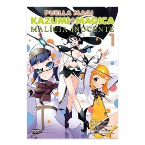 Mangá Puella Magi Kazumi Magica: Malícia Inocente - Volume 01