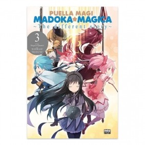 Mangá Puella Magi Madoka Magica:  The Different Story - Volume 03