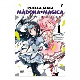 Mangá Puella Magi Madoka Magica:  The Movie Rebellion - Volume 01