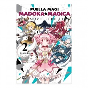 Mangá Puella Magi Madoka Magica:  The Movie Rebellion - Volume 02