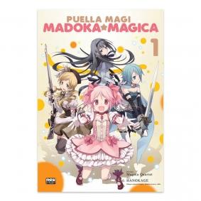 Mangá Puella Magi Madoka Magica - Volume 01