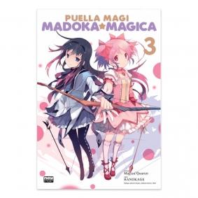 Mangá Puella Magi Madoka Magica - Volume 03
