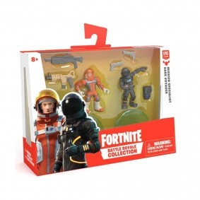 Mini Figuras Fortnite Battle Royale Collection - Mission Specialist + Dark Voyager | FUN