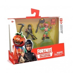 Mini Figuras Fortnite Battle Royale Collection - Tomato Head + Shadow Ops | FUN