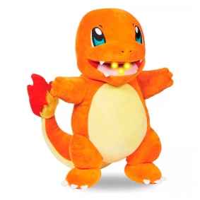 Pelúcia Pokémon Lights & Sounds - Charmander com Luz e Som (30 cm) | Jazwares