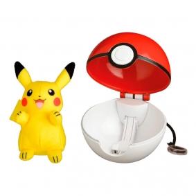 Pelúcia Pokémon POP Action Poké Bola - Pikachu | Jazwares