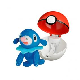 Pelúcia Pokémon POP Action Pokébola - Popplio | WCT/DTC