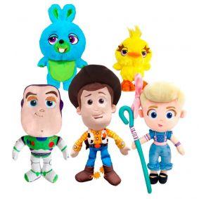 Pelúcias Toy Story 4 - Woody, Buzz, Betty, Bunny e Ducky | Mundo Plush DTC
