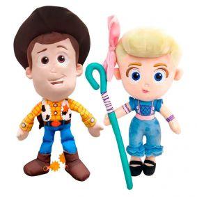 Pelúcias Toy Story 4 - Woody e Betty | Mundo Plush DTC