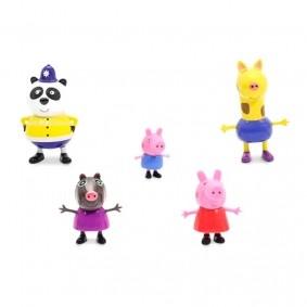 Bonecos Peppa Pig - Passeio na Cidade | DTC