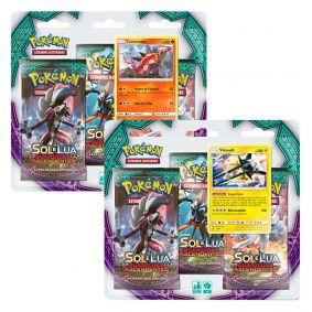 Pokémon TCG: 2 Triple Pack SM2 Guardiões Ascendentes - Turtonator e Vikavolt