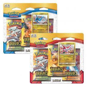Pokémon TCG: 2 Triple Pack SM7.5 Dragões Soberanos - Latios e Latias