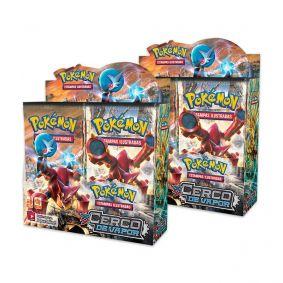 Pokémon TCG: 2x Booster Box (36 unidades) XY11 Cerco de Vapor