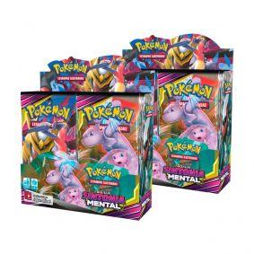 Pokémon TCG: 2x Booster Box (72 pacotes) SM11 Sintonia Mental