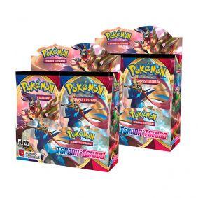 Pokémon TCG: 2x Booster Box (72 pacotes) SWSH1 Espada e Escudo