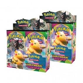 Pokémon TCG: 2x Booster Box (72 pacotes) SWSH4 Voltagem Vívida