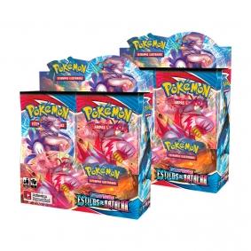 Pokémon TCG: 2x Booster Box (72 pacotes) SWSH5 Estilos de Batalha
