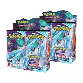 Pokémon TCG: 2x Booster Box (72 pacotes) SWSH6 Reinado Arrepiante