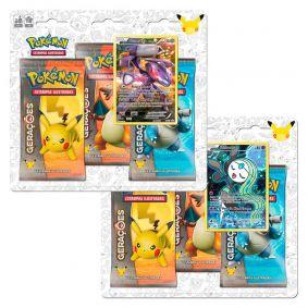 Pokémon TCG: 2x Triple Pack Gerações - Genesect + Meloetta
