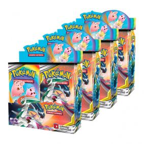 Pokémon TCG: 4x Booster Box (144 pacotes) SM12 Eclipse Cósmico