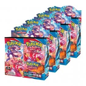 Pokémon TCG: 4x Booster Box (144 pacotes) SWSH5 Estilos de Batalha