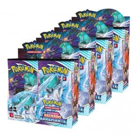 Pokémon TCG: 4x Booster Box (144 pacotes) SWSH6 Reinado Arrepiante