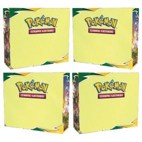 Pokémon TCG: 4x Booster Box (144 pacotes) SWSH7 Céus em Evolução