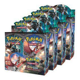 Pokémon TCG: 4x Booster Box (36 unidades) SM3 Sombras Ardentes