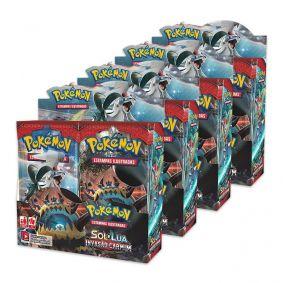 Pokémon TCG: 4x Booster Box (36 unidades) SM4 Invasão Carmim