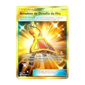 Pokémon TCG: Amuleto de Desafio da Ilha (265/236) - SM12 Eclipse Cósmico