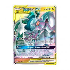 Pokémon TCG: Arceus, Dialga e Palkia GX (156/236) - SM12 Eclipse Cósmico