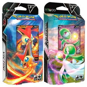 Pokémon TCG: Baralho Batalha V - Victini + Gardevoir