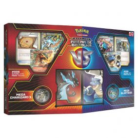 Pokémon TCG: Baralhos Arena de Batalha - Mega Charizard X VS Mega Blastoise
