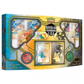 Pokémon TCG: Baralhos Batalha de Liga - Pikachu e Zekrom-GX + Reshiram e Charizard-GX