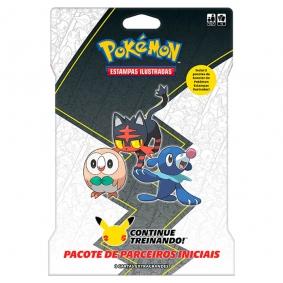 Pokémon TCG: Blister Gigante Pacote de Parceiros Iniciais - Alola