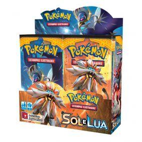 Pokémon TCG: Booster Box (36 unidades) SM1 Sol e Lua