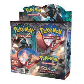 Pokémon TCG: Booster Box (36 unidades) SM3 Sombras Ardentes
