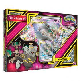 Pokémon TCG: Box Aliados Coleção Lua Pálida-GX