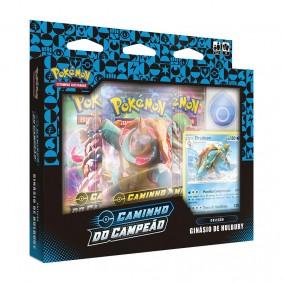 Pokémon TCG: Box Coleção SWSH3.5 Caminho do Campeão - Ginásio de Hullbury