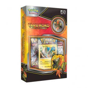 Pokémon TCG: Box Coleção com Broche - Tapu Koko