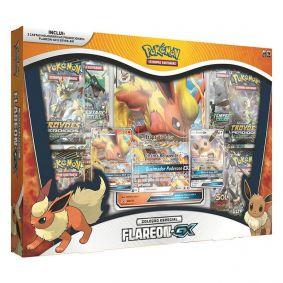 Pokémon TCG: Box Coleção Especial Flareon-GX