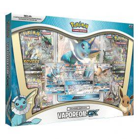 Pokémon TCG: Box Coleção Especial Vaporeon-GX