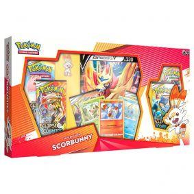Pokémon TCG: Box Coleção Galar Scorbunny - Zamazenta V