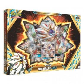 Pokémon TCG: Box Coleção Lendas de Alola - Solgaleo GX