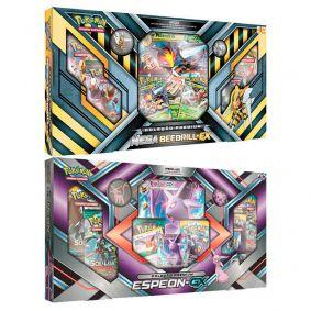 Pokémon TCG: Box Coleção Premium - Mega Beedrill-EX + Espeon-GX