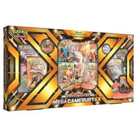 Pokémon TCG: Box Coleção Premium - Mega Camerupt-EX