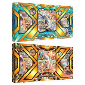 Pokémon TCG: Box Coleção Premium - Mega Camerupt-EX + Mega Sharpedo-EX
