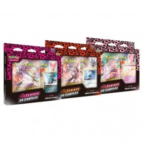 Pokémon TCG: Box Coleção SWSH3.5 Caminho do Campeão - Ginásios de Ballonlea, Spikemuth e Hammerlocke
