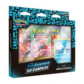 Pokémon TCG: Box Coleção SWSH3.5 Caminho do Campeão - Ginásio de Circhester (Gelo)