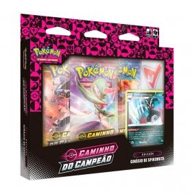 Pokémon TCG: Box Coleção SWSH3.5 Caminho do Campeão - Ginásio de Spikemuth (Sombrio)